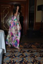 Mahira Khan Pakistani actress meet for Zindagi channel in Leela Hotel on 11th Nov 2014 (3)_54636de20feed.JPG