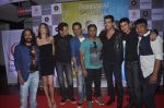 Ganesh Hegde, Manmeet Gulzar, Harmeet Gulzar, Zayed Khan at Sharafat Gayi Tel Lene in Cinemax, Mumbai on 14th Nov 2014 (26)_5467488480301.JPG