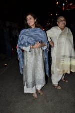 Dimple Kapadia at Ravi Chopra prayer meet in Blue Sea on 15th Nov 2014 (132)_54687cb6c2cd6.JPG