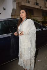 Rani Mukherjee at Ravi Chopra prayer meet in Blue Sea on 15th Nov 2014 (210)_54687d6284a39.JPG