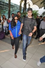 Arpita Khan returns post wedding in Mumbai on 21st Nov 2014 (10)_54706647678de.JPG