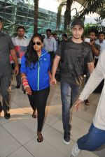 Arpita Khan returns post wedding in Mumbai on 21st Nov 2014 (13)_5470664ab004b.JPG