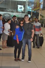 Arpita Khan returns post wedding in Mumbai on 21st Nov 2014 (5)_54706641e19cd.JPG