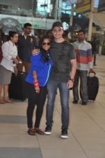 Arpita Khan returns post wedding in Mumbai on 21st Nov 2014 (6)_5470664319bff.JPG