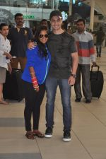 Arpita Khan returns post wedding in Mumbai on 21st Nov 2014 (7)_5470664436798.JPG