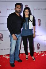 Sunil Shetty, Mana Shetty at Rohit Sharma_s bash in Palladium on 20th Nov 2014 (42)_5470773d06062.JPG