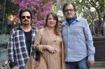 Akbar Khan, Zarine Khan, Sanjay Khan at Susanne Khan_s The Charcoal Project new collection launch in Andheri, Mumbai on 24th Nov 2014 (248)_54737e8eb56df.JPG