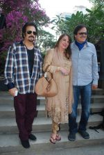 Sanjay Khan, Akbar Khan at Susanne Khan_s The Charcoal Project new collection launch in Andheri, Mumbai on 24th Nov 2014 (60)_54737e8f7c5ee.JPG
