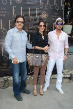 Sanjay Khan, Farah Ali Khan, Zayed Khan at Susanne Khan_s The Charcoal Project new collection launch in Andheri, Mumbai on 24th Nov 2014 (4)_54737fd1eda45.JPG