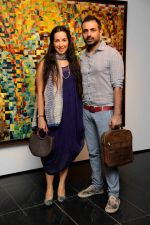 Shraddha & Mayank Nigam at Khushii art event in Tao Art Gallery on 22nd Nov 2014_547337a82a328.jpg