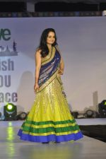 Giaa Manek on ramp for Wellingkar_s 2611 tribute in Matunga, Mumbai on 26th Nov 2014 (59)_5476c73d26478.JPG