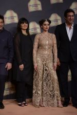 Aditi Rao Hydari, Wasim Akram walk the ramp for Suneet Verma for Blenders with jewels by Azva on 29th Nov 2014 (135)_547c49f2d06ef.JPG