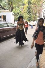 Shruti Hassan snapped in Mumbai on 30th Nov 2014 (19)_547c580eba274.JPG