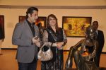 Fardeen Khan, Zarine Khan at camel colours exhibition in Jehangir Art Gallery, Mumbai on 1st Dec 2014 (14)_547d809ab6277.JPG