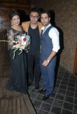 Vahbiz , Anshul trivedi and Vivian Dsena at Vahbbiz Dorabjee