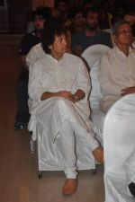 Zakir Hussain at Sitaradevi prayer meet in Mumbai on 4th Dec 2014 (24)_5481790f6536b.JPG