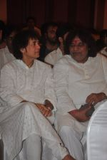 Zakir Hussain at Sitaradevi prayer meet in Mumbai on 4th Dec 2014 (35)_54817912939e3.JPG