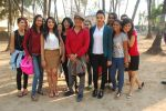 Bidita Bag, Vrajesh Hirjee On location of Gun Pe Done in Madh on 8th Dec 2014 (5)_5486b9582addd.JPG