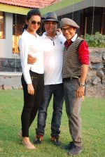 Bidita Bag, Vrajesh Hirjee On location of Gun Pe Done in Madh on 8th Dec 2014 (95)_5486b9592e66e.JPG