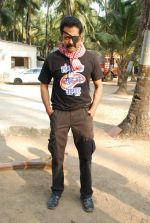 Deepraj Rana On location of Gun Pe Done in Madh on 8th Dec 2014 (20)_5486bb12a0024.JPG