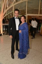 Rohit Roy, manasi Joshi Roy at Purbi Joshi Wedding in Mumbai on 8th Dec 2014 (12)_5486bc416dc6c.JPG
