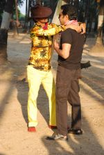 Vijay Raaz On location of Gun Pe Done in Madh on 8th Dec 2014 (54)_5486b9a607408.JPG