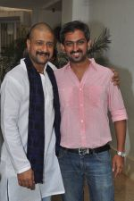 Jitendra Joshi at the First Look & Theatrical Trailer launch of Shreyas Talpade starrer Baji in mumbai on 9th Dec 2014 (14)_5487f101bd222.JPG