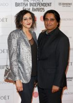 Meera Syal, Sanjeev Bhaskar at Moet British Independent Awards on 7th Dec 2014 (18)_5489429daa919.JPG