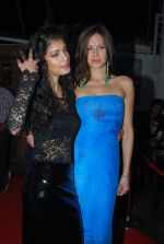 Tena Desae, Talia Benson  at the Audio release of Sharafat Gayi Tel Lene in Andheri, Mumbai on 11th Dec 2014 (141)_548aaaf0c4dc7.JPG