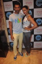 Barkha Bisht, Indraneil Sengupta at Telly calendar bash in Santacruz, Mumbai on 11th Dec 2014 (8)_548aa95e62022.JPG