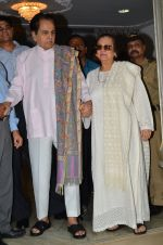 Dilip Kumar with Saira Banu snapped as he gets discharged from hospital in Mumbai on 11th Dec 2014 (84)_548aac2152386.JPG
