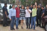 Anushka Sharma, Aamir Khan, Rajkumar Hirani, Vidhu Vinod Chopra at PK game launch in Reliance Digital, Mumbai on 12th Dec 2014  (164)_548c256791097.JPG