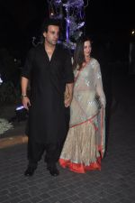 Aamir Ali, Sanjeeda Sheikh at Sangeet ceremony of Riddhi Malhotra and Tejas Talwalkar in J W Marriott, Mumbai on 13th Dec 2014 (148)_548e9ec081ecf.JPG