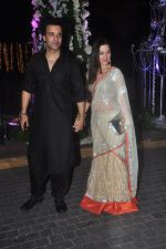 Aamir Ali, Sanjeeda Sheikh at Sangeet ceremony of Riddhi Malhotra and Tejas Talwalkar in J W Marriott, Mumbai on 13th Dec 2014 (150)_548e9ec23ac04.JPG