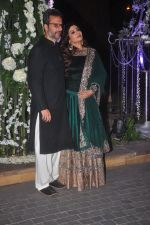 Raveena Tandon, Anil Thadani at Sangeet ceremony of Riddhi Malhotra and Tejas Talwalkar in J W Marriott, Mumbai on 13th Dec 2014 (411)_548ec54985511.JPG