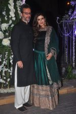 Raveena Tandon, Anil Thadani at Sangeet ceremony of Riddhi Malhotra and Tejas Talwalkar in J W Marriott, Mumbai on 13th Dec 2014 (413)_548ec54a8274a.JPG