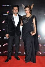 Aamna Sharif at Sansui Stardust Awards red carpet in Mumbai on 14th Dec 2014 (344)_548fcea2c7130.JPG