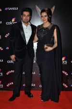 Aamna Sharif at Sansui Stardust Awards red carpet in Mumbai on 14th Dec 2014 (348)_548fcea6154df.JPG