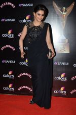 Aamna Sharif at Sansui Stardust Awards red carpet in Mumbai on 14th Dec 2014 (362)_548fceb4b2134.JPG