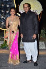 Ashutosh Gowariker, Sunita Gowariker at Riddhi Malhotra & Tejas Talwalkar_s wedding reception in J W Marriott, Mumbai on 15th Dec 2014 (144)_548fe63e15da4.JPG