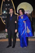Divya Palat, Aditya Hitkari at Riddhi Malhotra & Tejas Talwalkar_s wedding reception in J W Marriott, Mumbai on 15th Dec 2014 (93)_548fe67b65480.JPG