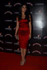 Jennifer Winget at Sansui Stardust Awards red carpet in Mumbai on 14th Dec 2014 (970)_548fd07a9911f.JPG