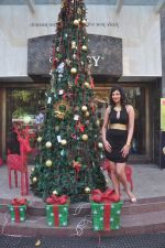 Sayali Bhagat at Poleys Xmas celebrations in Bandra, Mumbai on 15th Dec 2014 (15)_548fe2aeae500.JPG