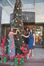 Sayali Bhagat at Poleys Xmas celebrations in Bandra, Mumbai on 15th Dec 2014 (42)_548fe2d4bbc36.JPG