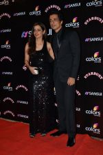 Sonu Sood at Sansui Stardust Awards red carpet in Mumbai on 14th Dec 2014 (788)_548fd269e2859.JPG