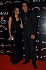 Sonu Sood at Sansui Stardust Awards red carpet in Mumbai on 14th Dec 2014 (800)_548fd28399350.JPG