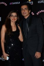 Sonu Sood at Sansui Stardust Awards red carpet in Mumbai on 14th Dec 2014 (803)_548fd28a740ee.JPG