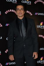Sonu Sood at Sansui Stardust Awards red carpet in Mumbai on 14th Dec 2014 (815)_548fd298bc0b3.JPG