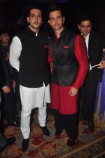 Hrithik Roshan, Zayed Khan at Vikram Singh_s Brother Uday and Ali Morani�s daughter Shirin�s Sangeet Ceremony on 18th Dec 2014 (52)_5493ff4e821d2.JPG