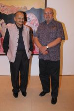 Shyam Benegal at Deepak Shinde_s Colourful Crossings Preview in Mumbai on 23rd Dec 2014 (4)_549a8e2365918.JPG